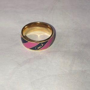 Preppy stripe ring